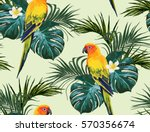 beautiful seamless vector... | Shutterstock .eps vector #570356674