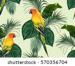 beautiful seamless vector... | Shutterstock .eps vector #570356704