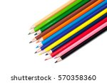 Color Pencils Isolated On A...