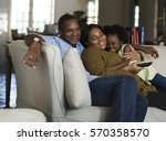 African Descent Family House...