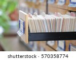 the image of library catalog | Shutterstock . vector #570358774