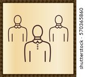 group of people or group of... | Shutterstock .eps vector #570365860
