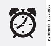 clock icon | Shutterstock .eps vector #570368698