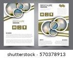 business brochure template.... | Shutterstock .eps vector #570378913
