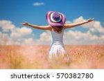 Happy Woman Enjoying The Life...