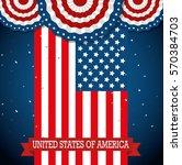 happy presidents day poster | Shutterstock .eps vector #570384703
