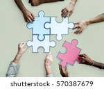 togetherness connection... | Shutterstock . vector #570387679