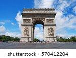 paris  france   june 29  2014.... | Shutterstock . vector #570412204