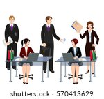 office people character.... | Shutterstock .eps vector #570413629