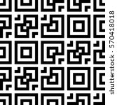 vector seamless pattern.... | Shutterstock .eps vector #570418018