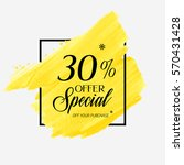 sale special offer 30  off sign ...   Shutterstock .eps vector #570431428