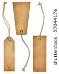 vintage tags | Shutterstock . vector #57044176