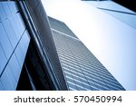 windows of commercial building... | Shutterstock . vector #570450994