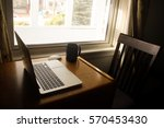 working from home | Shutterstock . vector #570453430