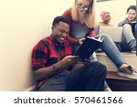 friends people group teamwork... | Shutterstock . vector #570461566