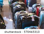 luggage consisting of large... | Shutterstock . vector #570465313