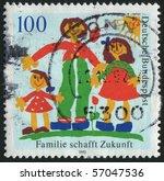 germany   circa 1992  stamp... | Shutterstock . vector #57047536