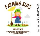 gardening and farming... | Shutterstock .eps vector #570477418