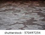background color of brown old... | Shutterstock . vector #570497254