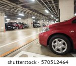 building underground parking lot | Shutterstock . vector #570512464