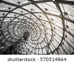 monochrome glass and steel | Shutterstock . vector #570514864