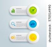 infographic presentation... | Shutterstock .eps vector #570514990