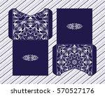 a festive envelope  box  cover... | Shutterstock .eps vector #570527176