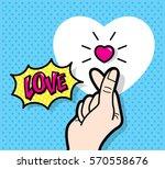 Finger Heart  Gesture  Love...