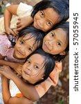 Stock photo poverty children 57055945