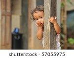 Stock photo poverty child 57055975