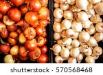 horizontal  gold and white... | Shutterstock . vector #570568468