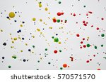 abstract watercolor paint... | Shutterstock . vector #570571570