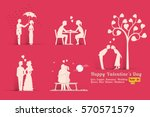vector illustration set of... | Shutterstock .eps vector #570571579