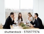 business conference. business... | Shutterstock . vector #570577576