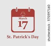 st. patrick's day calendar