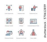 career management  professional ... | Shutterstock .eps vector #570612859