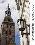 riga dome cathedral  latvia | Shutterstock . vector #570627730