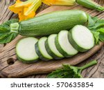 Zucchini With Slices And...