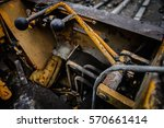 heavy machinery | Shutterstock . vector #570661414