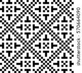 vector seamless pattern.... | Shutterstock .eps vector #570664090