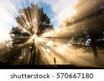 Ray Of Light Pass Through A...
