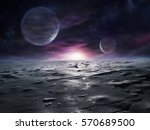 Extraterrestrial Landscape Of...