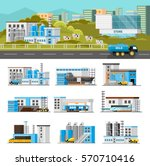 coloful industrial composition...   Shutterstock .eps vector #570710416