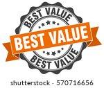 best value. stamp. sticker.... | Shutterstock .eps vector #570716656