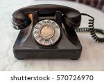 antique old telephone | Shutterstock . vector #570726970
