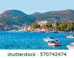 foca resort town near izmir ... | Shutterstock . vector #570742474