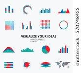 infographic elements. visualise ...   Shutterstock .eps vector #570748423