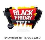 black friday sale banner | Shutterstock .eps vector #570761350