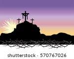 Easter Morning  Calvary Hill...