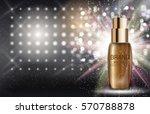 skin toner bottle tube template ... | Shutterstock .eps vector #570788878